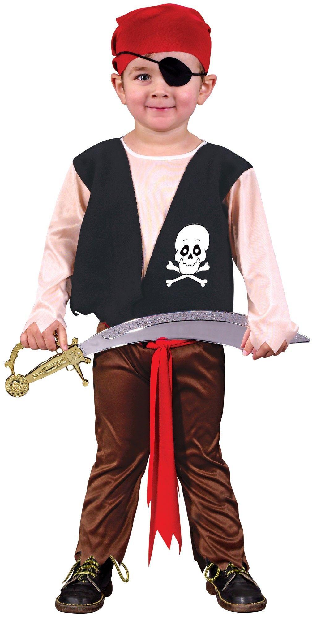 Детский новогодний костюм пирата на мальчика фото